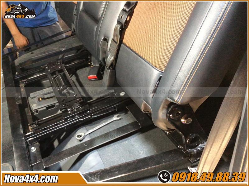 Bộ sản phẩm  ghế chỉnh điện cho xe bán tải giá sỉ  cho anh em thợ