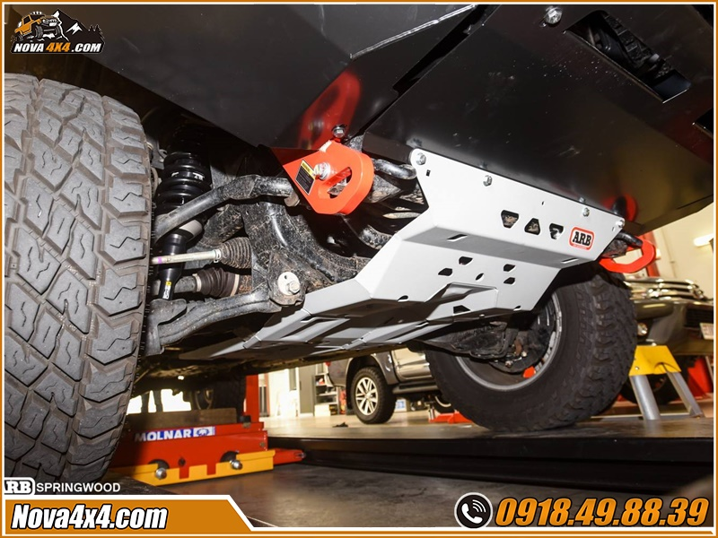 Giáp gầm xe bán tải cực chất tại Shop Nova4x4 TPHCM